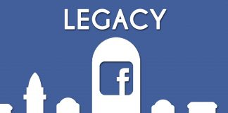 how to use legacy Option in facebook