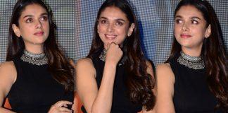Aditi Rao Hydari AT Antariksham Movie Trailer Launch Photos