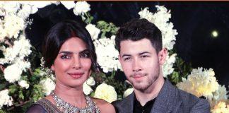 Priyanka Chopra Nick Jonas Reception Photos