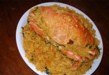 Do you know how to perform crab biryani