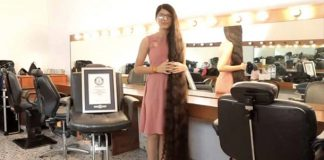 Gujarat's 'Real Life Rapunzel' Sets World Record With 5-Foot, 7-Inch Hair