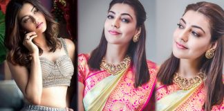 Kajal Agarwal Latest Saree Photos