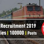 1 lakh jobs in Railways