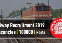 1 lakh jobs in Railways