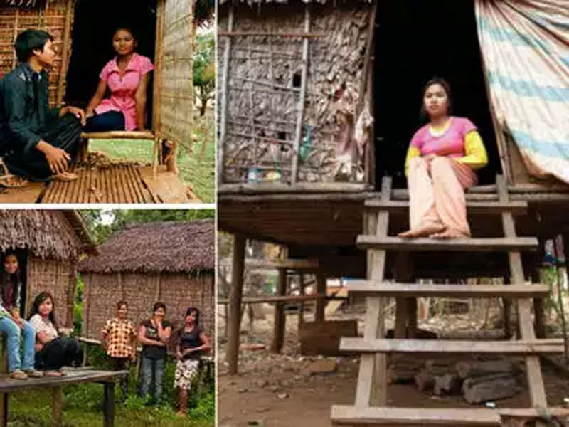 Here parents prepare love huts for daughters to spend time with various boys