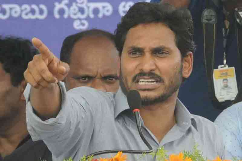 ys jagan questions chandrababu over repolling in chandragiri