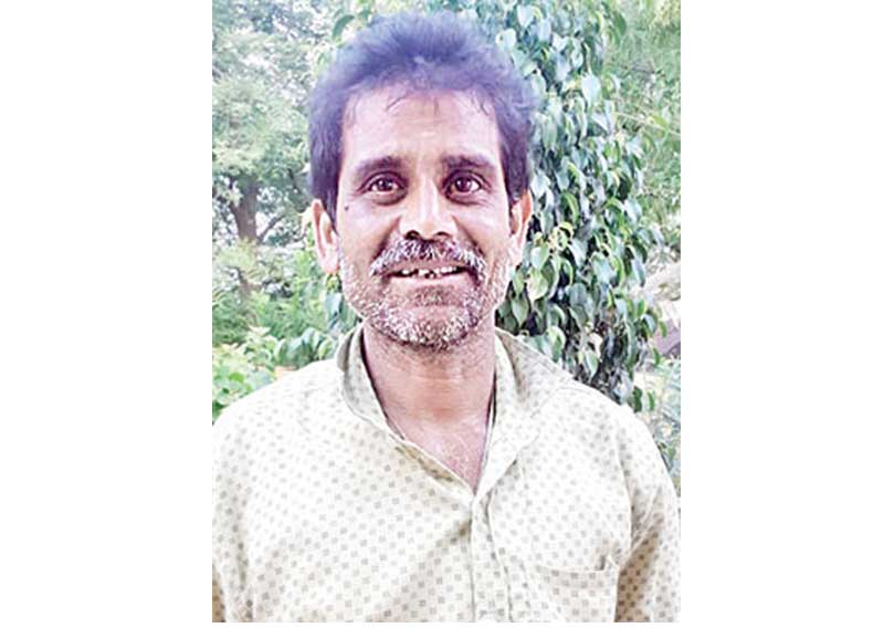 i drank my own urine to save my life says krishna naik who went for hiddle assets to forest