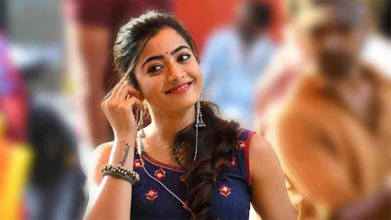 Rashmika to act in tamil hero vijay movie