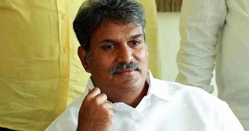 Kesineni Nani Shock To Chandrababu