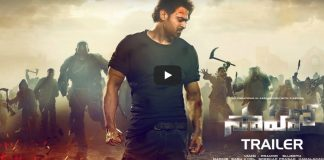 saaho movie official trailer launched