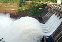 krishna flood water level decreased