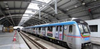 hyderabad metro says good news
