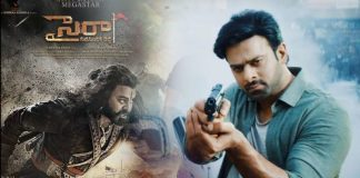 Saaho Vs Sye Raa Narasimha Reddy Movie pre release business details