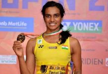 PV Sindhu Recomended for Padma Bhushan