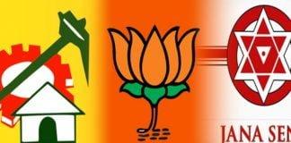 TDP, BJP, Janasena with a single agenda