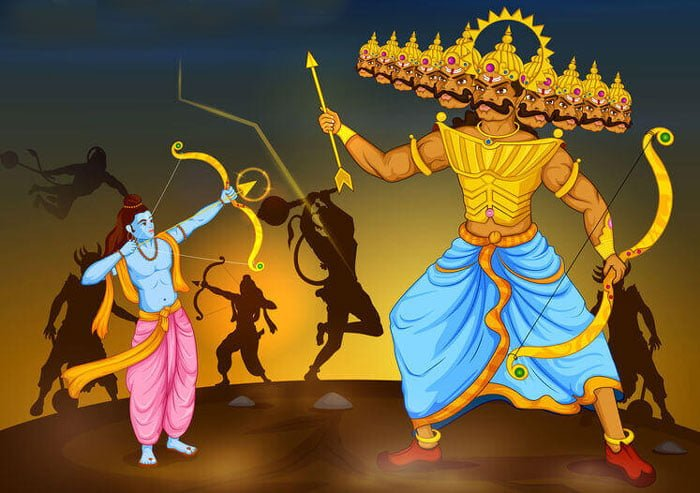 how dussehra got that name
