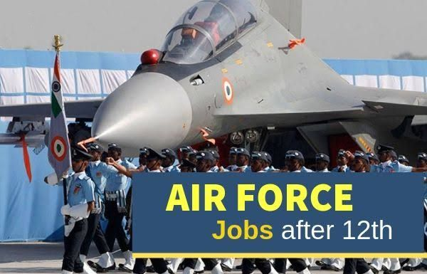 Airforce Job For 12th Pass 2020