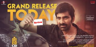 Ravi Teja disco raja Movie review