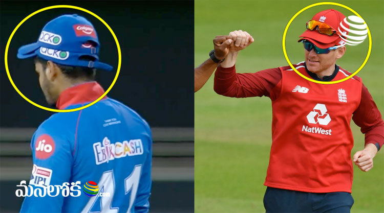 why some players in ipl wearing two caps