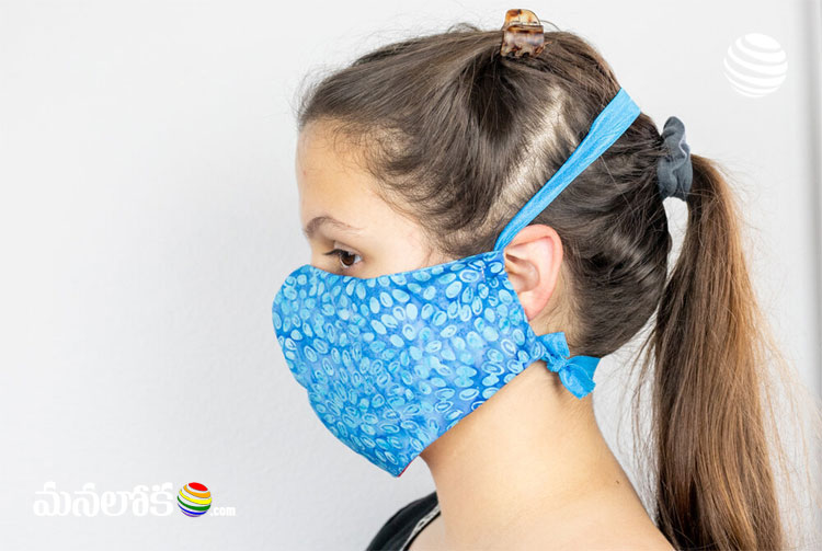 scientists warn that wearing face masks can trigger skin problems in skin allergic people